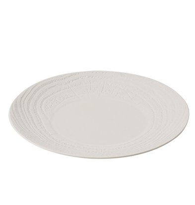XXLselect Sign Round Ivoire High Porcelain | Ø215mm