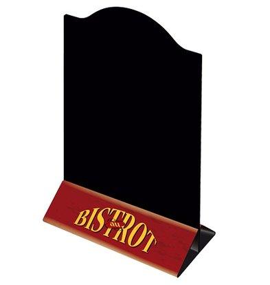 XXLselect Menustandaard Bistrot | Uitneembaar Tweezijdig Bord | Set van 3 Stuks | 150x80x(H)230mm