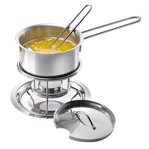 XXLselect saucepan with tea-rechaud | 0.3 Liter | Ø140x (H) 240mm