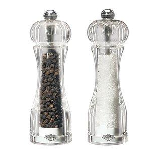 XXLselect Salz- und Pfeffermühle Acryl | 140mm