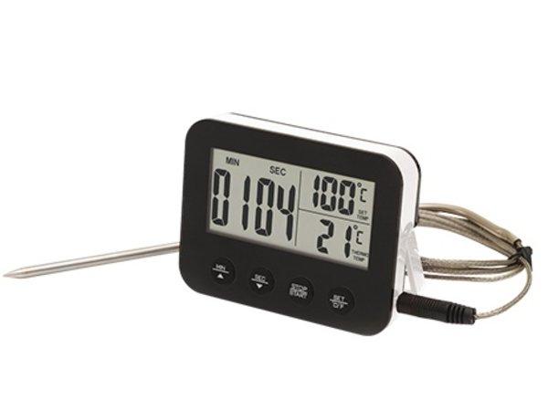 XXLselect Kerntemperatuurmeter Kunststof   met Magneetbevestiging   0° / +250°C