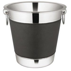 XXLselect Weinkühler Premium-Edelstahl 18/10 | Ring mit Oren | Ø220x (H) 210mm