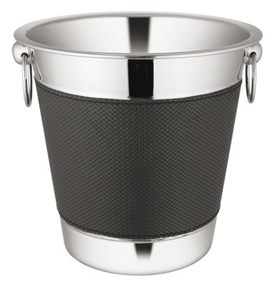 XXLselect Wine Cooler Premium 18/10 stainless steel | Ring with Oren | Ø220x (H) 210mm