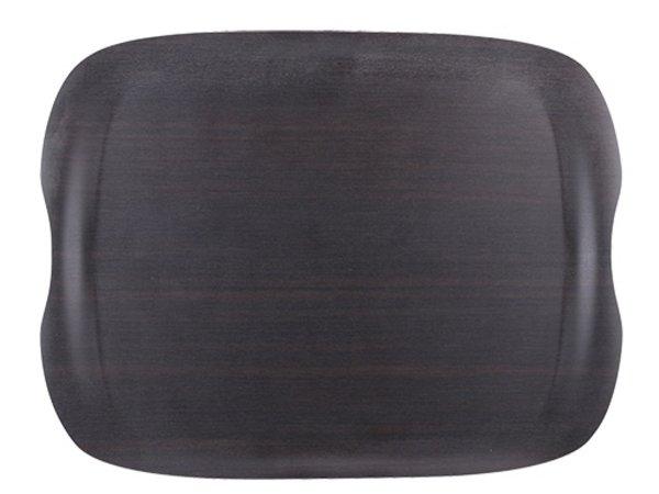 XXLselect Tray Wave Dark   Scratch-resistant   430x330mm