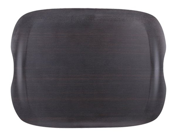 XXLselect Tray Wave-Dunkel | Kratzfeste | 430x330mm