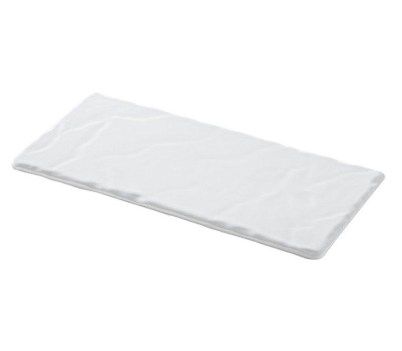 XXLselect Plateau Basalt Porcelain White | Look slate | 250x120x (H) 7mm