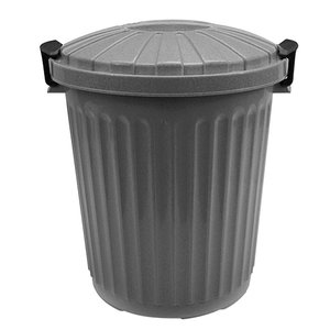 XXLselect Waste container Lid Gray | Ø35x (H) 41mm | 23 liter