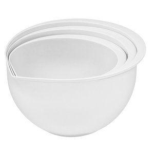 XXLselect Plastic mixing bowl | Set of 3 | 1.5 / 2/3 Liter
