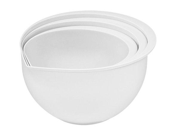 XXLselect Plastic mixing bowl   Set of 3   1.5 / 2/3 Liter