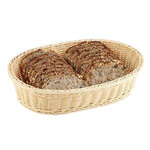 XXLselect Bread Basket Oval polypropylene | 370x275x (H) 90mm