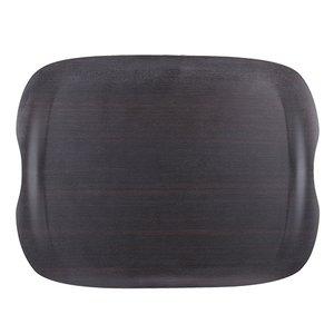 XXLselect Tray Wave Dark   Scratch-resistant   430x230mm