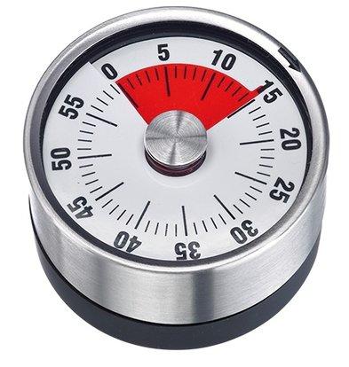 XXLselect Kookwekker RVS | met Magneet 60 Minuten | Ø62mmx(H)36mm