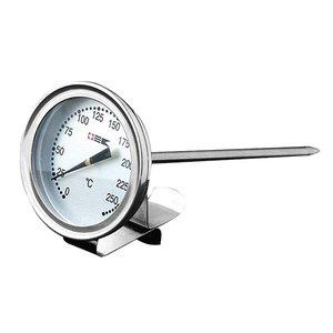 XXLselect vetthermometer RVS met Bevestigingclip | Max 300°C