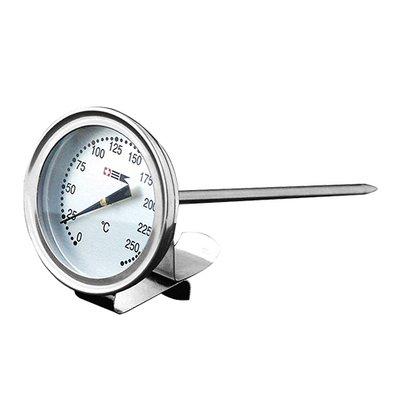XXLselect vetthermometer Edelstahl mit Verschluss | Bis zu 300 ° C