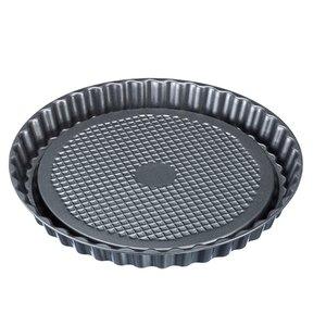 XXLselect Kuchenform Stahl Teflon | Antihaftbeschichtung | Ø280x (H) 30 mm