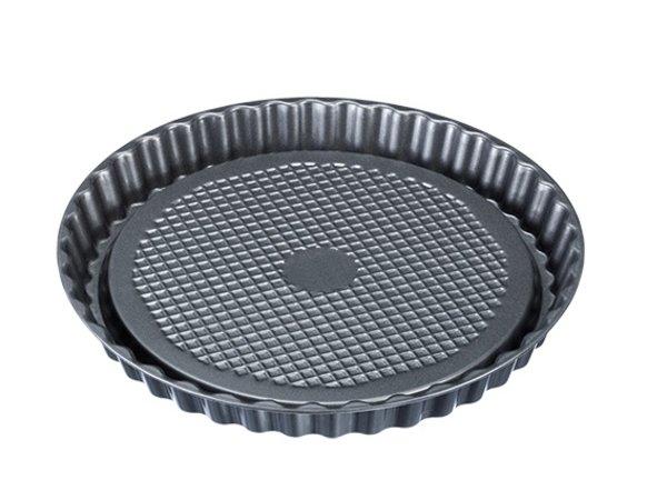 XXLselect taartvorm staal teflon | Anti-aanbaklaag | Ø280x(H)30mm