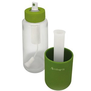 XXLselect Öl / Essig Injector | Kunststoff / Glas mit Filter | Ø50x (H) 160mm