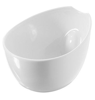 XXLselect Scale-Pulse Weiß | Hochwertiges Porzellan | 85x70x (H) 65 mm