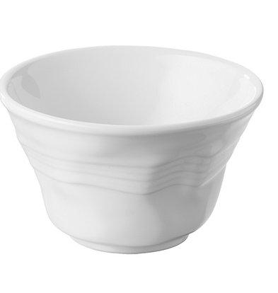 XXLselect Scale-Pulse Weiß | Hochwertiges Porzellan | Ø115x (H) 70mm