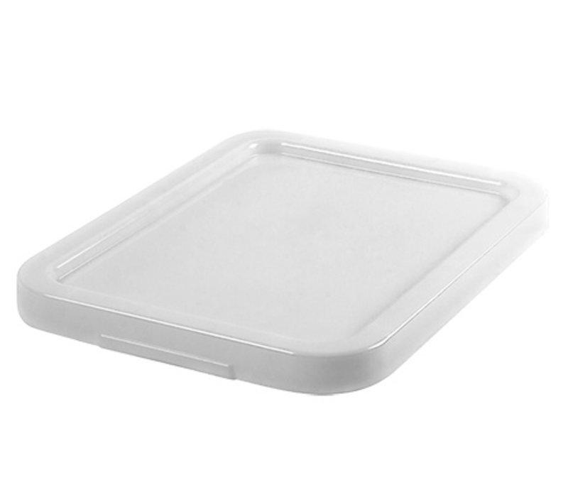 XXLselect Deckel Stapel Plastik Weiß | Für 59050/59051