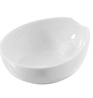 XXLselect Scale-Pulse Weiß | Hochwertiges Porzellan | 80x70x (H) 30 mm