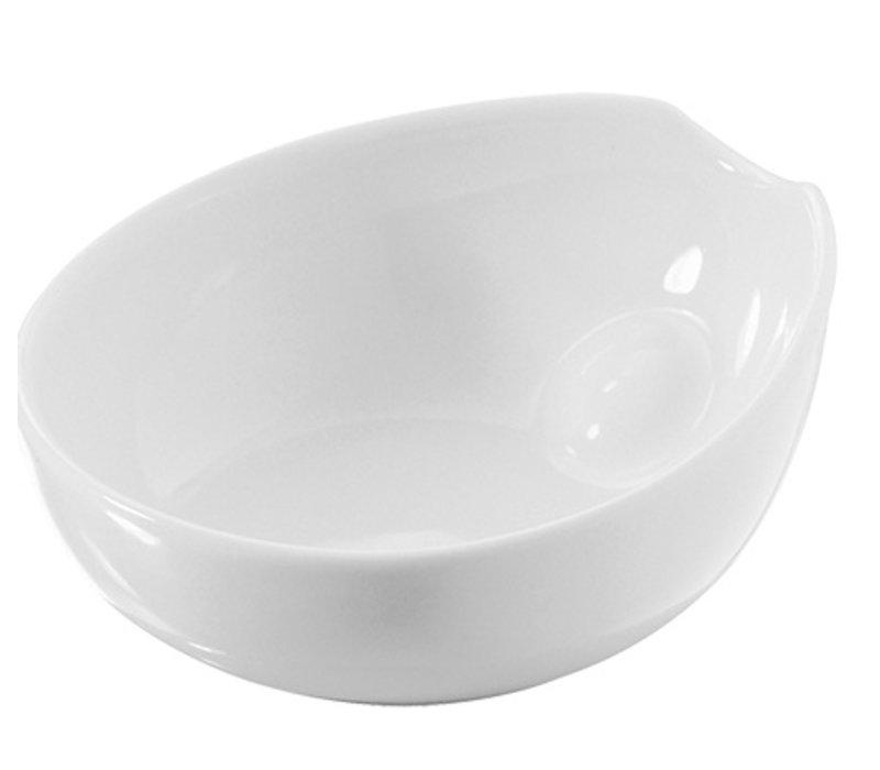 XXLselect Scale Pulse White | High quality porcelain | 80x70x (H) 30mm