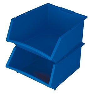 XXLselect Voorraadbak Kunststof Stapelbaar | 360x390x(H)200mm | 25 Liter