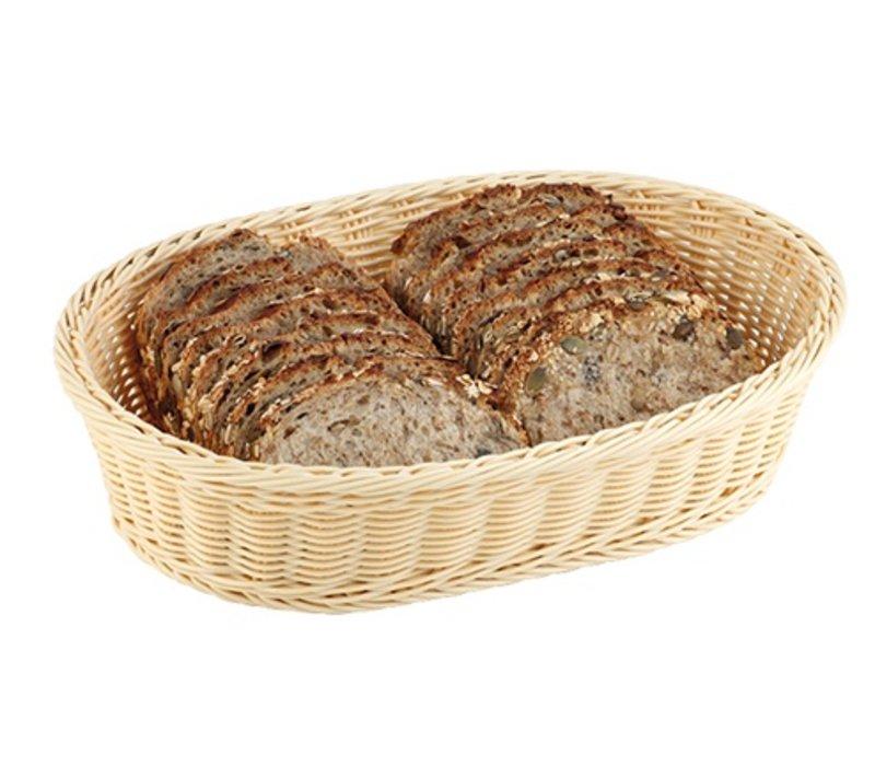 XXLselect Bread Basket Oval polypropylene | 285x170x (H) 85mm