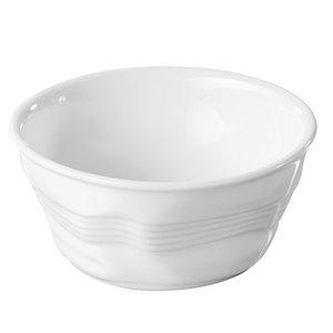 XXLselect Ramekin Weiß Pulse | Hochwertiges Porzellan | Ø100x (H) 45 mm
