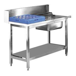 XXLselect Vorbelüftungszeit Tabelle Stainless Rechts | 1200mm