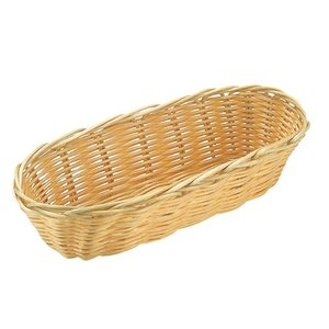 XXLselect Oval basket Polypropylene | 360x150x (H) 70mm