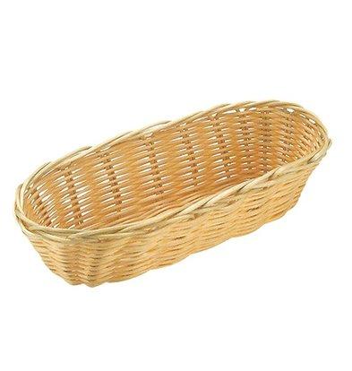 XXLselect Oval basket Polypropylene | 360x150x (H) 70mm