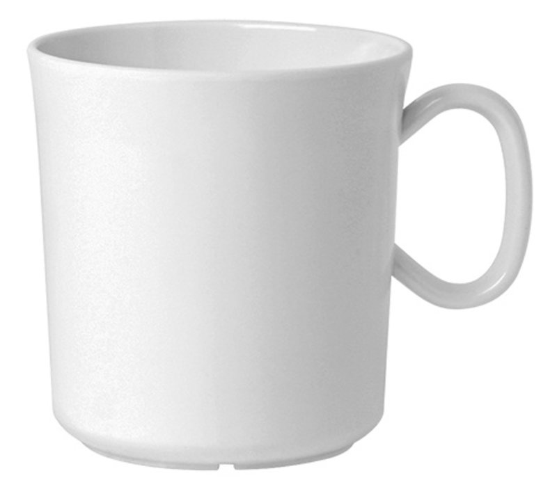 XXLselect Cup Polycarbonate Health White   30cl