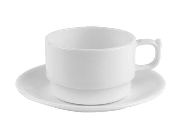 XXLselect Cup Polycarbonate Health White | 20cl