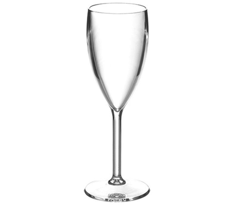 XXLselect Cava Prestige Polycarbonaat Glas | 10cl | Ø46x(H)170mm
