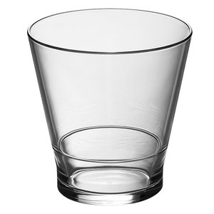 XXLselect Drinks / Whisky glass Polycarbonate | Stackable | 25cl | Ø82x (H) 84mm