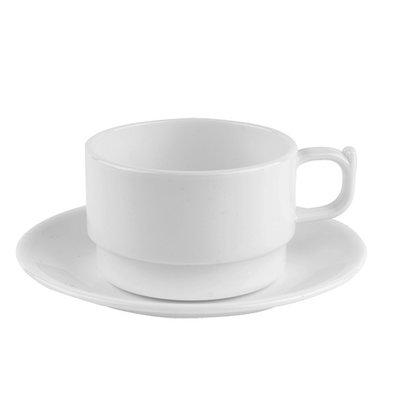 XXLselect Dish Polycarbonat Gesundheit Weiß | Ø14cm