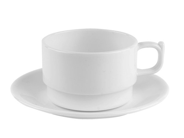 XXLselect Dish Polycarbonate Health White | Ø14cm