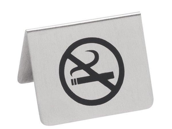XXLselect Nichtraucherzeichen SS | 2-seitig bedruckt | 55x (H) 45 mm
