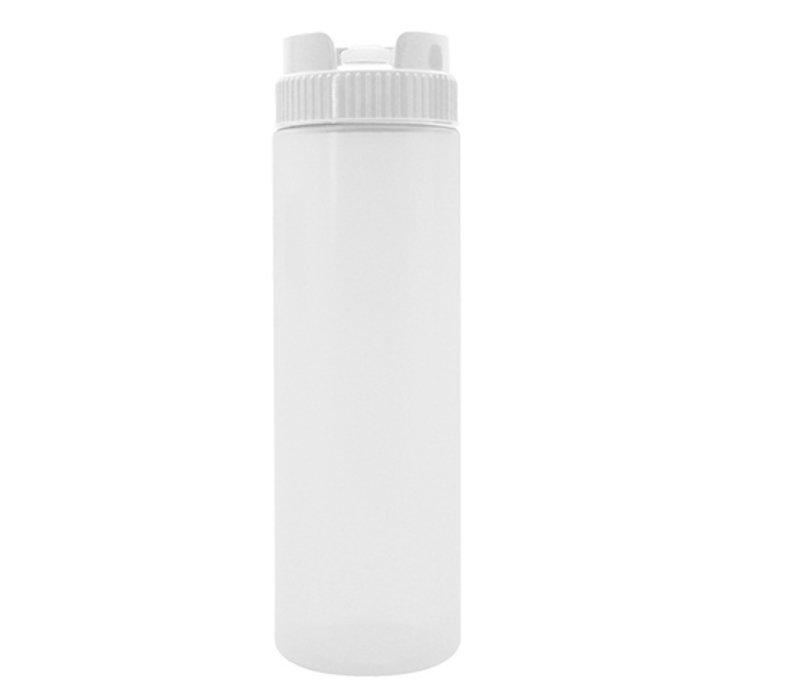 XXLselect Doseerfles Transparant | Non-Drip Dosering | 36cl | Ø55x(H)190mm