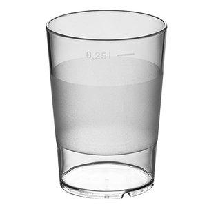 XXLselect Water Glass Stackable Universal | 28 CL | Ø72x (H) 100mm