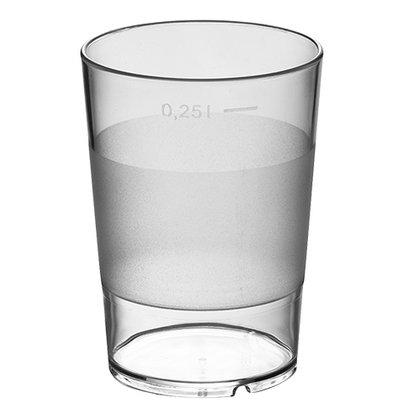 XXLselect Wasserglas stapelbare Universelle | 28 CL | Ø72x (H) 100mm