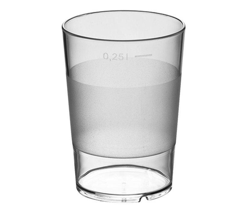 XXLselect Water Glas Stapelbaar Universeel   28 CL   Ø72x(H)100mm