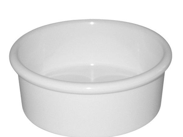 XXLselect ramekin | Weißer Melamin | Ø85x (H) 30 mm