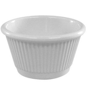 XXLselect ramekin | Weißer Melamin | Ø60x (H) 40 mm
