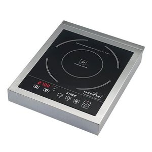 Caterchef Induktions-Herd Edelstahl Tabletop | Digital Timer | 2700W | 290x360x (H) 55 mm