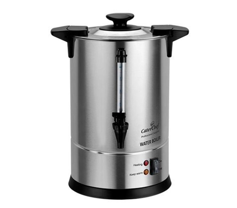Caterchef Kettle CaterChef SS | Non-Drip-Hahn | 10 Liter