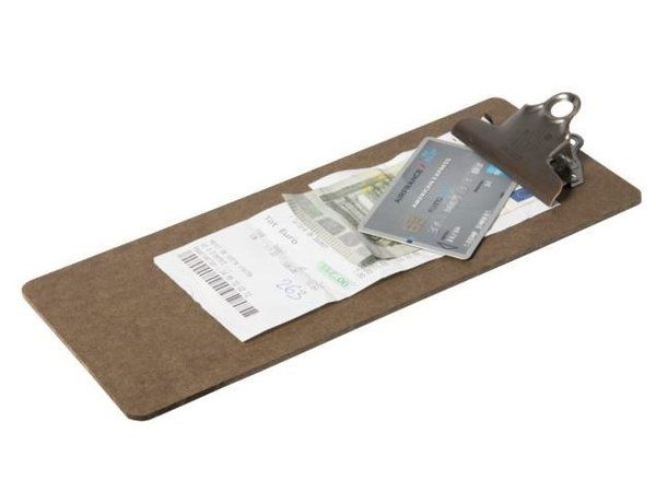 Securit Account Clipboard | 265x115x30mm