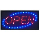 Securit LED Panel OPEN | 48x24x2cm