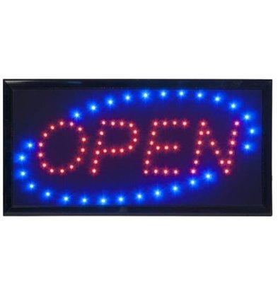 Securit LED Panel OPEN | 48x24x2cm